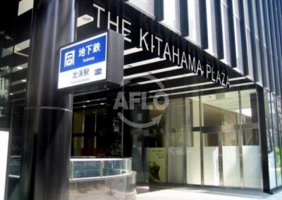 The Kitahama(ザ・キタハマ) 駅直結の便利な立地