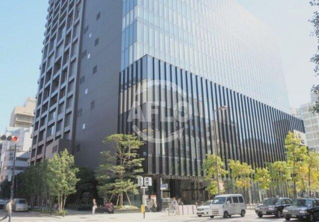 The Kitahama(ザ・キタハマ) 前面道路