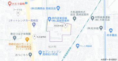 【地図】サニーパーク松川㈱Roots
