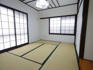 和室は6帖あります。やっぱり和室は落ち着きますよね