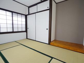 床の間に押入れ、THE和室のアイテムです