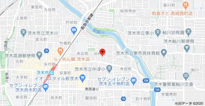 【地図】ほくと