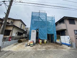 敷地は約30.6坪で建物は述べ約30.1坪の2SLDKです。