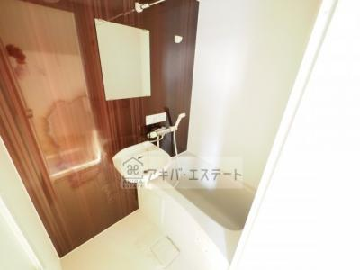 【浴室】パークサイド小岩