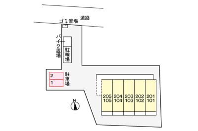 【区画図】グローヴ アベニュー