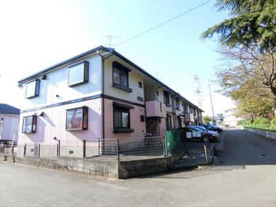 東急田園都市線「藤が丘」駅より徒歩圏内♪1フロア2住戸の2階建てアパート♪コンビニやドラッグストアが近くて便利な住環境です◎