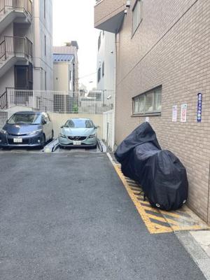 駐車場・バイク置場!