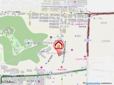 【地図】喜与町ジョア