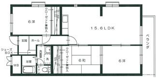 グリーンビュー祇園306号室