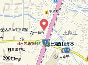 【地図】坂本⑦ Y邸貸家