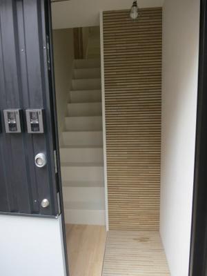 【玄関】西新宿4丁目 賃貸併用住宅