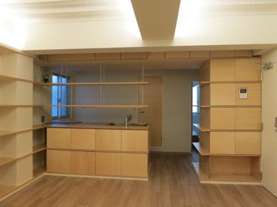 【キッチン】西新宿4丁目 賃貸併用住宅
