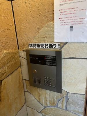 【セキュリティ】リーフジャルダン総持寺駅前