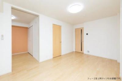 【居間・リビング】流山アパートA