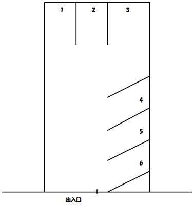 【区画図】渥美駐車場
