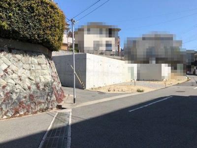 【前面道路含む現地写真】神戸市垂水区舞子台6丁目 A号地 土地