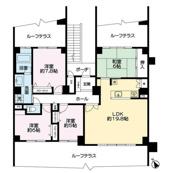 阪急ヒルズコート高槻5番館の画像