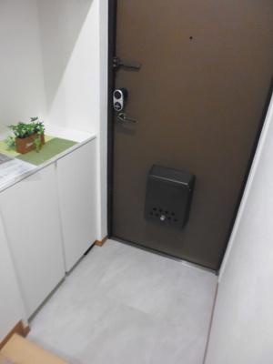 清潔感のある、玄関♪横浜の新生活を満喫してください。