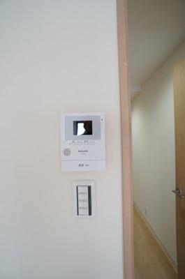 TVモニターホンで防犯面も安心です。