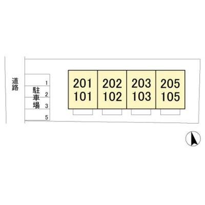 【区画図】コーワハイム