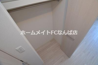【収納】スプランディッド難波WEST
