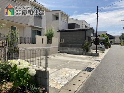 【前面道路含む現地写真】神戸市垂水区舞多聞西4丁目中古戸建