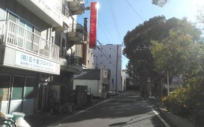 【前面道路含む現地写真】高知県高知市堺町 売り土地