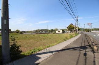 【外観】坂戸市長岡Ⅳ 建築条件なし売地 「坂戸駅」4.3km 敷地110坪