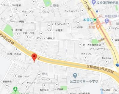 【地図】メゾン・フォンティーヌ