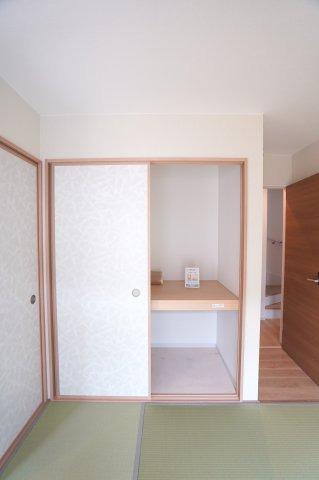 2階7帖 フリースペースがあるのでテレワークルームとして使ってもいいですね。