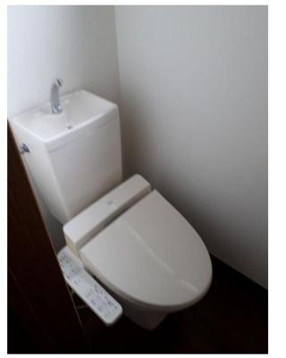 【トイレ】クローバーハイツⅤ
