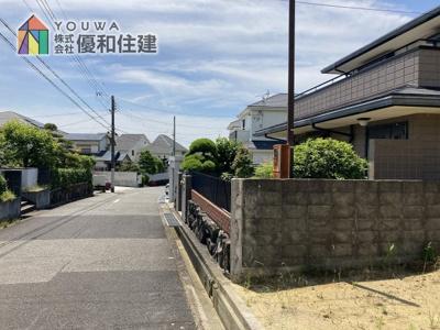 【前面道路含む現地写真】神戸市垂水区神陵台5丁目 中古戸建