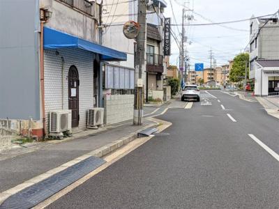 【前面道路含む現地写真】京都市伏見区醍醐東合場町