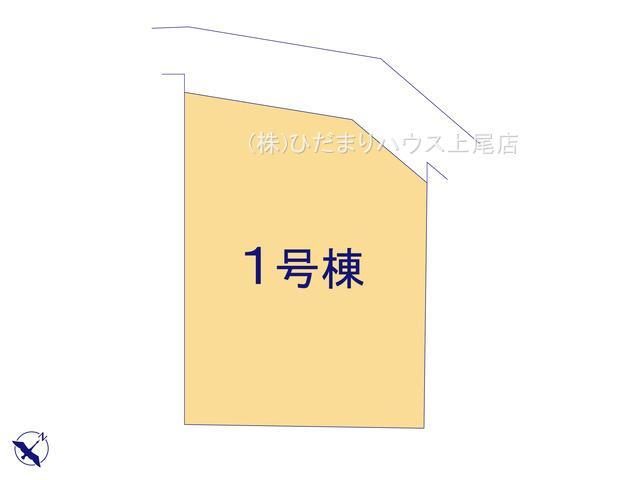【区画図】鴻巣市人形2丁目 新築一戸建て  01