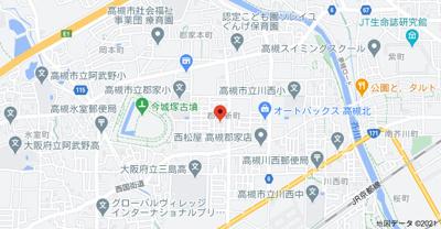 【地図】郡家新町タウンハウスⅠ
