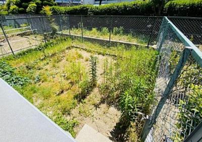 陽当りの良い南向きのお庭です!