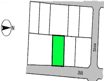 【区画図】桶川市朝日 売地