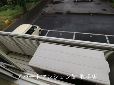 【バルコニー】レオパレスカーサT