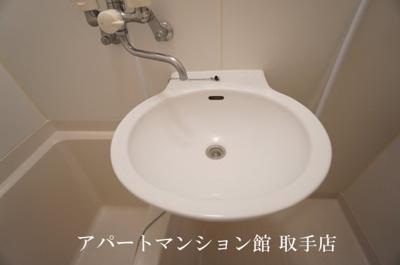 【洗面所】レオパレスアネックス