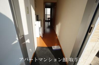 【玄関】レオパレスアネックス
