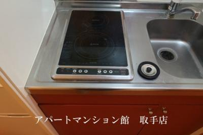 【キッチン】レオパレスヴァンベール
