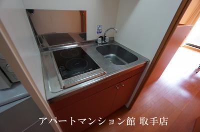 【キッチン】レオパレスグレイス