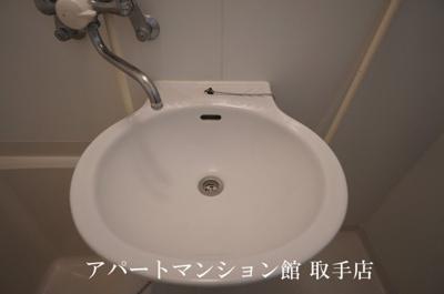 【洗面所】レオパレスグレイス
