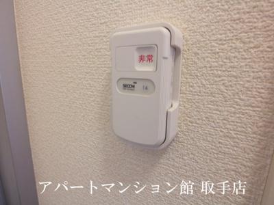 【セキュリティ】レオパレスサンハイム