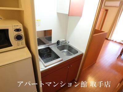 【キッチン】レオパレスサンハイム
