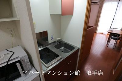 【キッチン】レオパレスルーチェⅡ