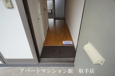 【玄関】レオパレス井野