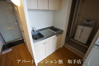 【キッチン】レオパレス井野