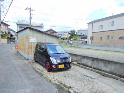 【駐車場】摂津ハイツ