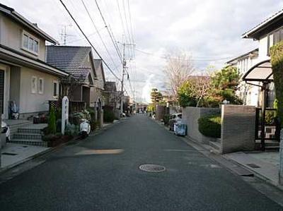 【前面道路含む現地写真】広島市南区向洋新町3丁目 向洋ニュータウン洋光台